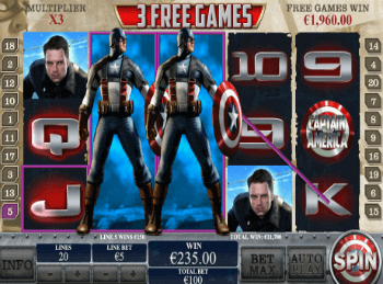 Капитан Америка – Первый Мститель Скрэтч