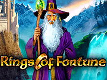 Бонусы от онлайн автомата Rings Of Fortune
