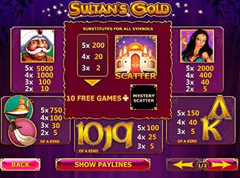 Золото Султана